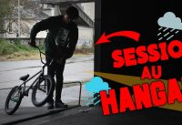 ON RIDE DANS LE HANGAR ABANDONNÉ EN BMX !