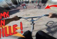 ON ROULE A FOND EN VILLE EN BMX !!