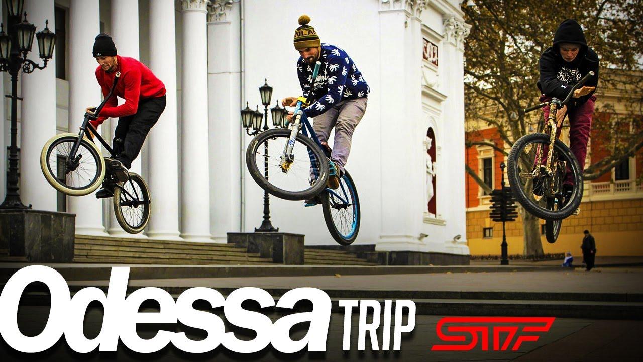 Odessa MTB, BMX, street, dirt trip 2015