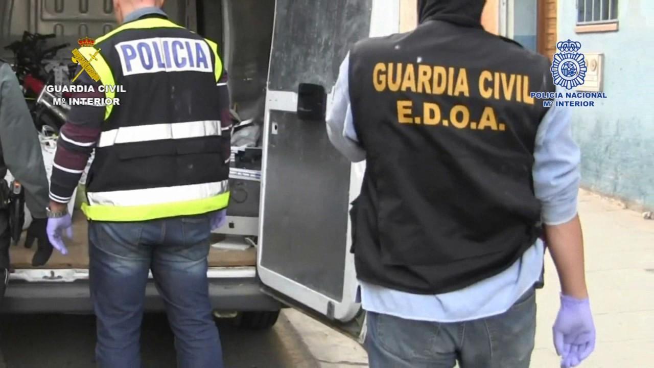 Op Mountain bike. Operaciones de la Guardia Civil. La Rioja
