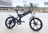 Outdoor Smart Folding Electric Bike the from GearBest