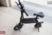 P10 Mini Aluminum Smart Folding Bike Electric Moped Bicycle  - Gearbest.com