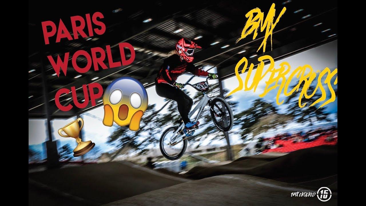 PARIS SUPERCROSS! (BMX World Cup Rounds Part 1)