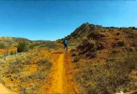 Palo Duro Canyon Mountain Biking at 8 times speed.