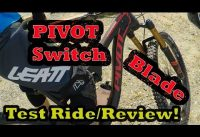 Pivot Switchblade Test Ride | Mountain Biking the National Whitewater Center | Charlotte, NC