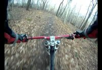 Plattekill DH RACE Course, GoPro Chest Mount 2011