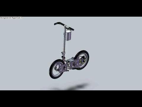 Powered Folding Bike-1