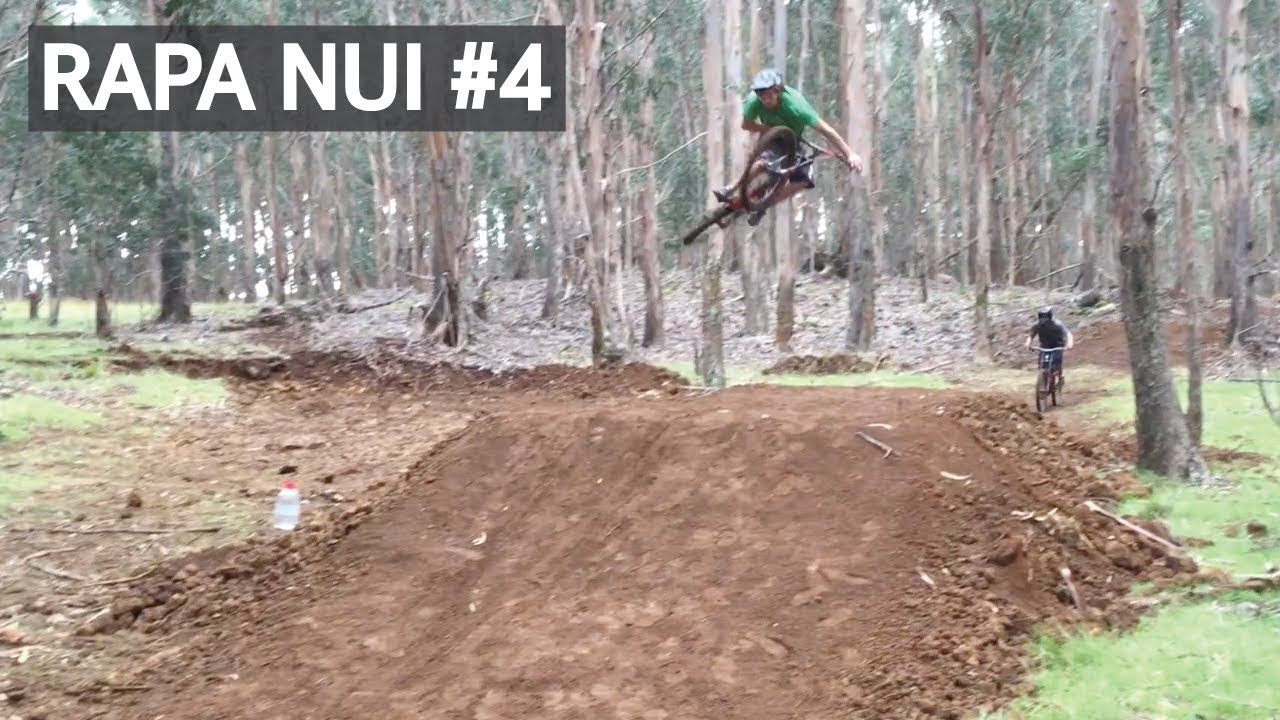 Rapa Nui #4 Probando senderos de Mountain Bike y haciendo actividades!