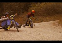 Razor DXT Drift TRIKES Down a Mountain Road in 4K