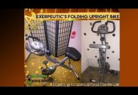Review of Exerpeutic's Folding Upright Bike