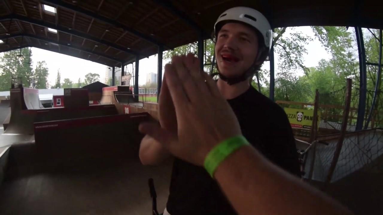   Riding my dream Skatepark   Roadtrip #1   Boeck BMX  