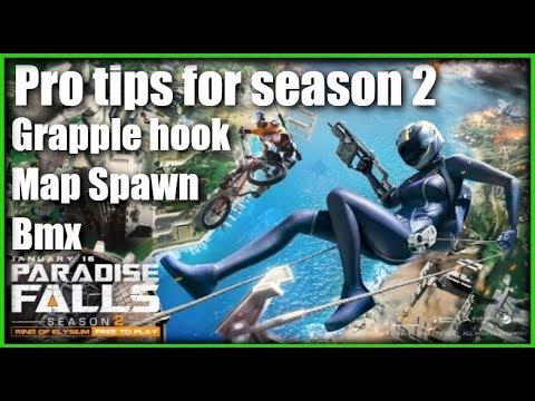 Ring of elysium: Season 2 Map, Grapple Hook, BMX, Tips And Tricks