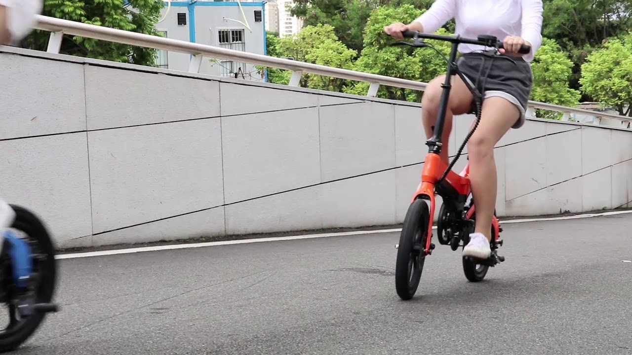 S6 happy weekend--new folding electric bike