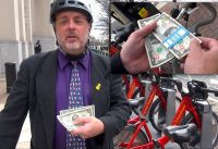 See What this Cyclist is Doing with $2 Bills to Advocate for Cycling