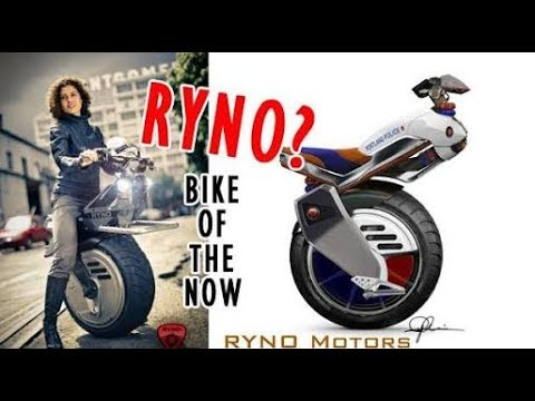 Self Balancing Motorcycle || One wheel bike || Electric Bike || Ryno Motors.