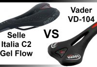 Selle Italia C2 Gel Flow vs Vader VD-104 MTB Saddle Review Mountain Bike