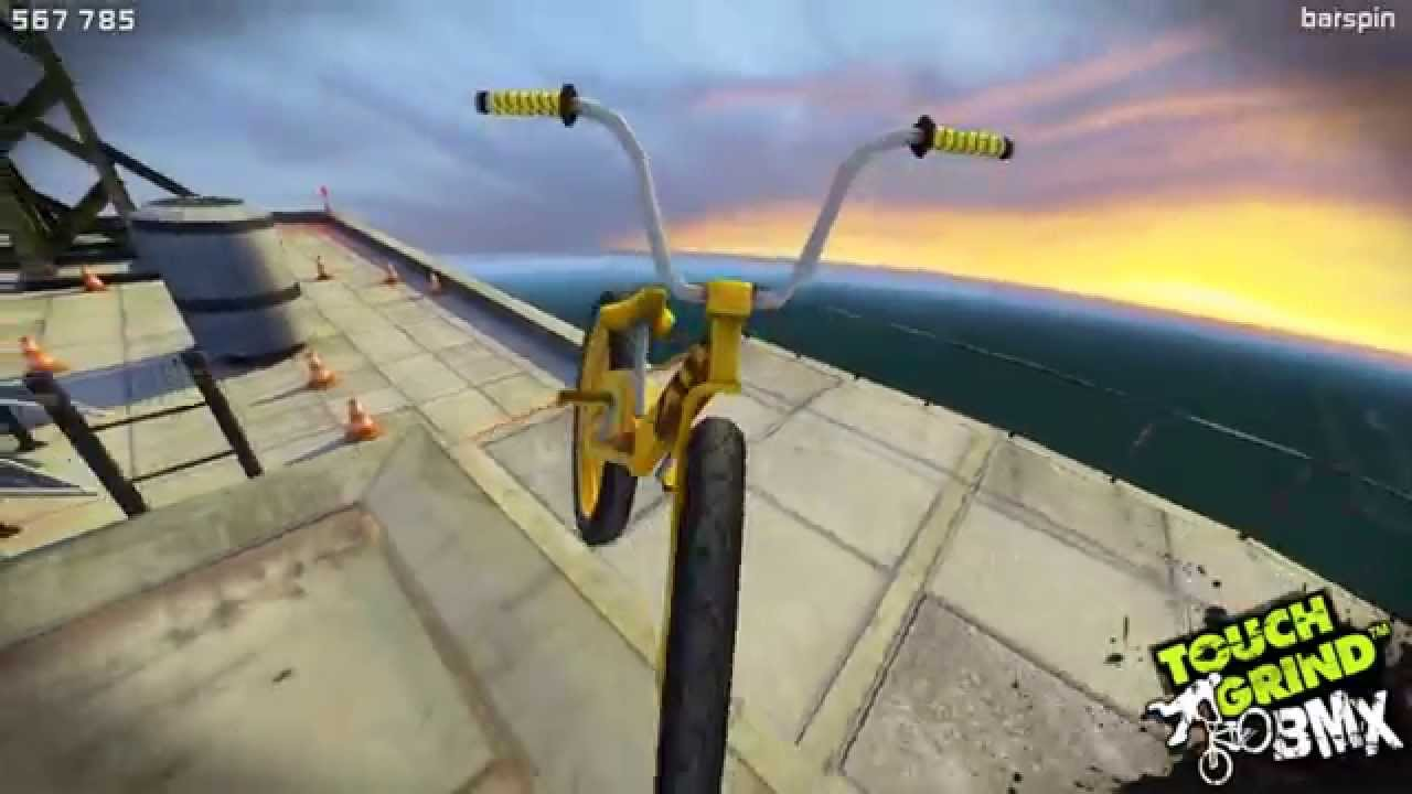 Skyline - Touchgrind BMX /bmx tricks