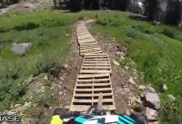 Snowbird Ski & Summer Resort - New Big Mountain Bike Trail Top to Bottom 7.5 Miles