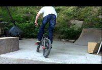 Some bmx tricks