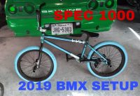 Spec - 1000 the all new 2019 BMX setup