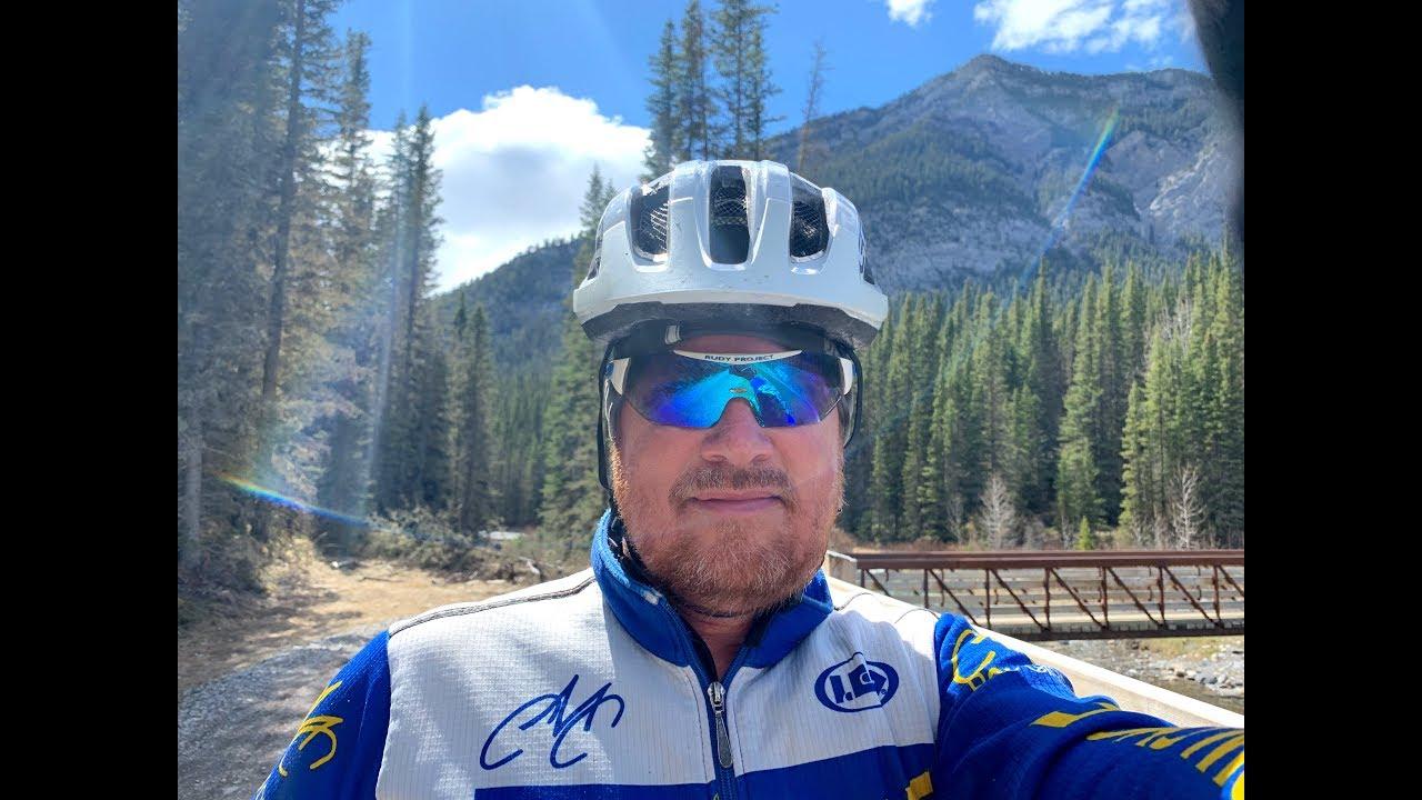 Spray Trail Mountain Bike Ride Time Warp GoPro7 Black