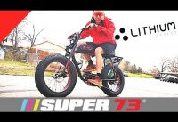 Super 73 Electric Bike, First Ride