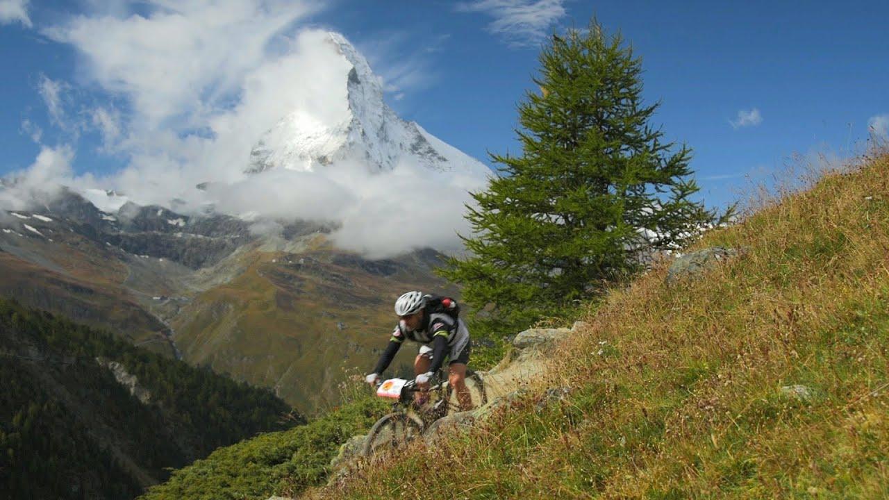 Swiss Epic Mountain Bike Race 2014, Etappe 5 Grächen-Zermatt