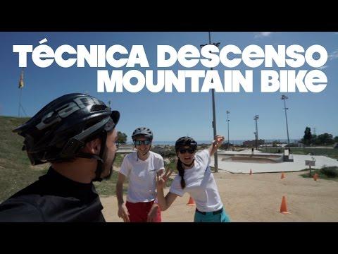 TÉCNICA DESCENSO MOUNTAIN BIKE (curso de iniciación)