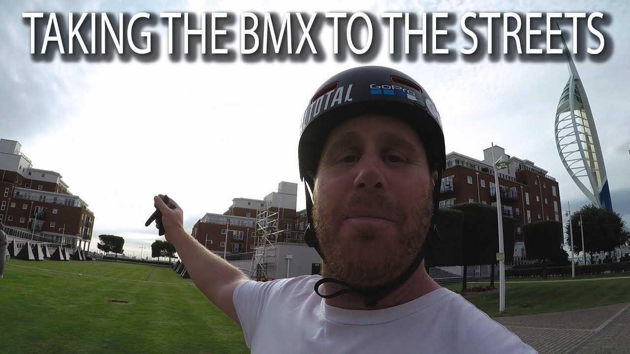 TAKING THE BMX TO THE STREETS!!