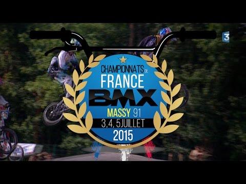 TEASER CHAMPIONNATS DE FRANCE BMX 2015 À MASSY