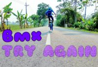 TRY AGAIN!! BMX fail Indonesia