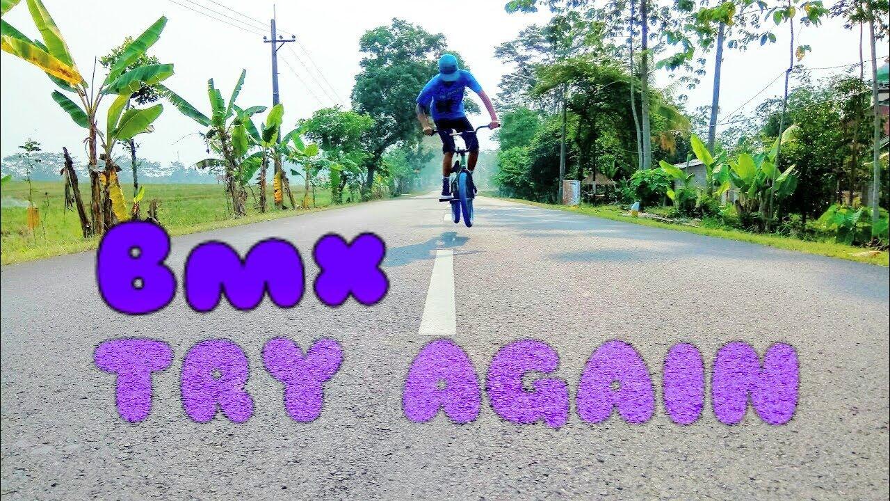 TRY AGAIN!! BMX fail Indonesia