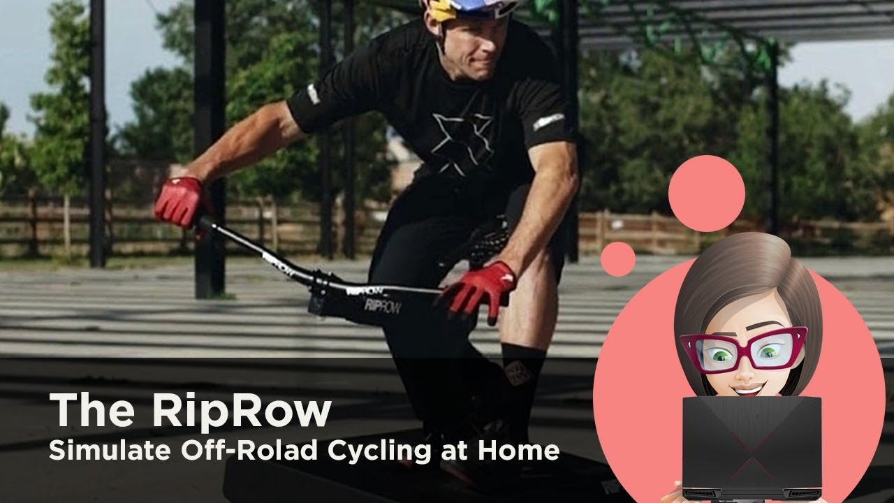 The RipRow Review How To Simulate Off-Rolad Cycling at Home