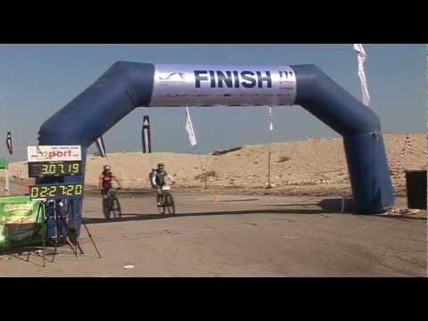 The lowest mountain bike race on earth