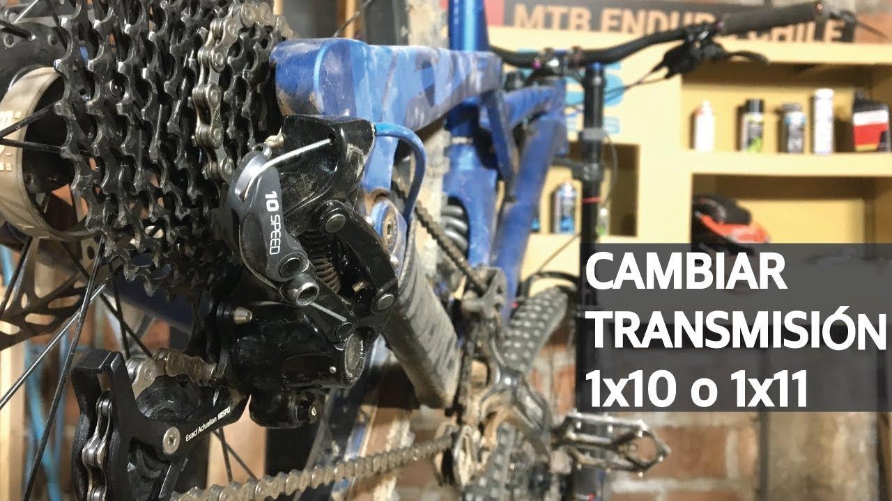 Tip #20 - Como cambiar Shifter y Cambio Trasero 1x10 o 1x11 en una Mountain Bike!