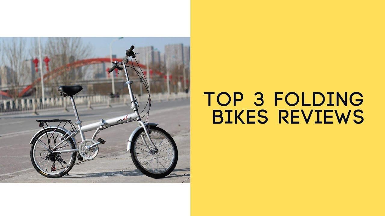 Top 3 Folding Bikes Reviews - Best Folding Bikes