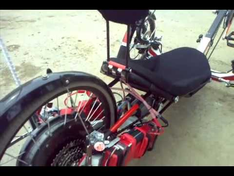 Trike KMX F3 Electric - HS3540 at 84v 50A.