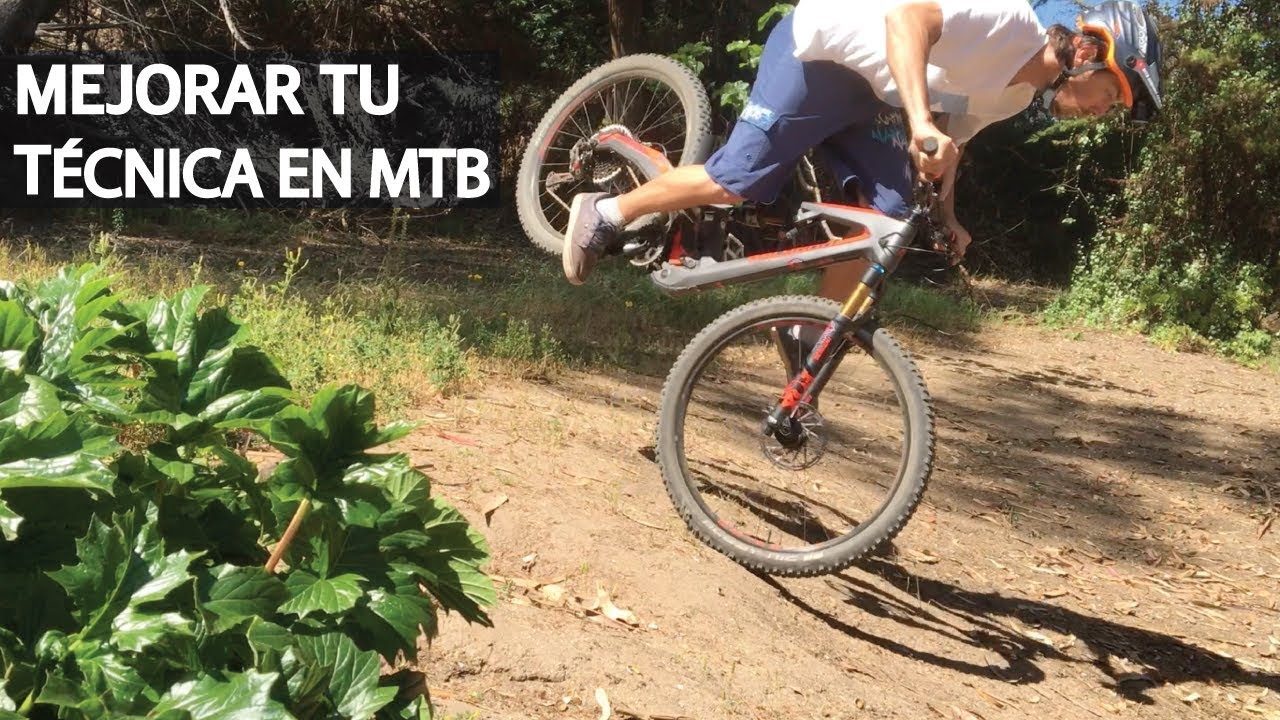 Tutorial - Mejorar tu técnica jugando con tu Mountain Bike!