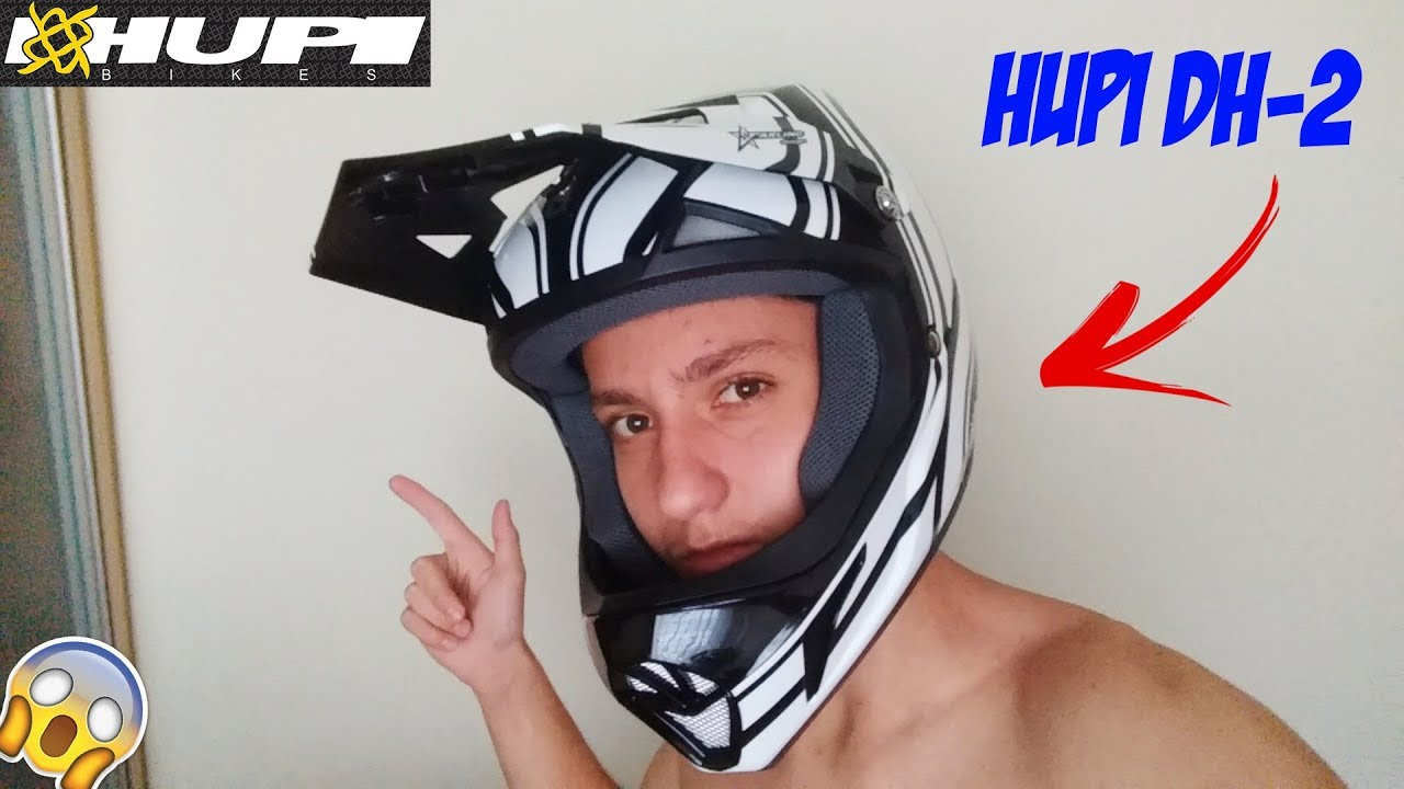 UNBOXING & REVIEW CAPACETE NOVO - HUPI DH-2