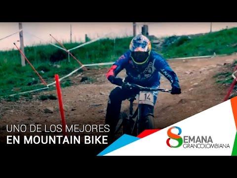 Uno de los mejores atletas de Mountain Bike del Mundo visitó el Poli