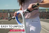 Veeley the foldable electric scooter, is designed for everyday commuting. Watch our new video!