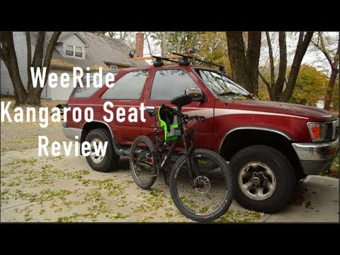 WeeRide Kangaroo Seat Review - Diamondback Release Mountain Bike