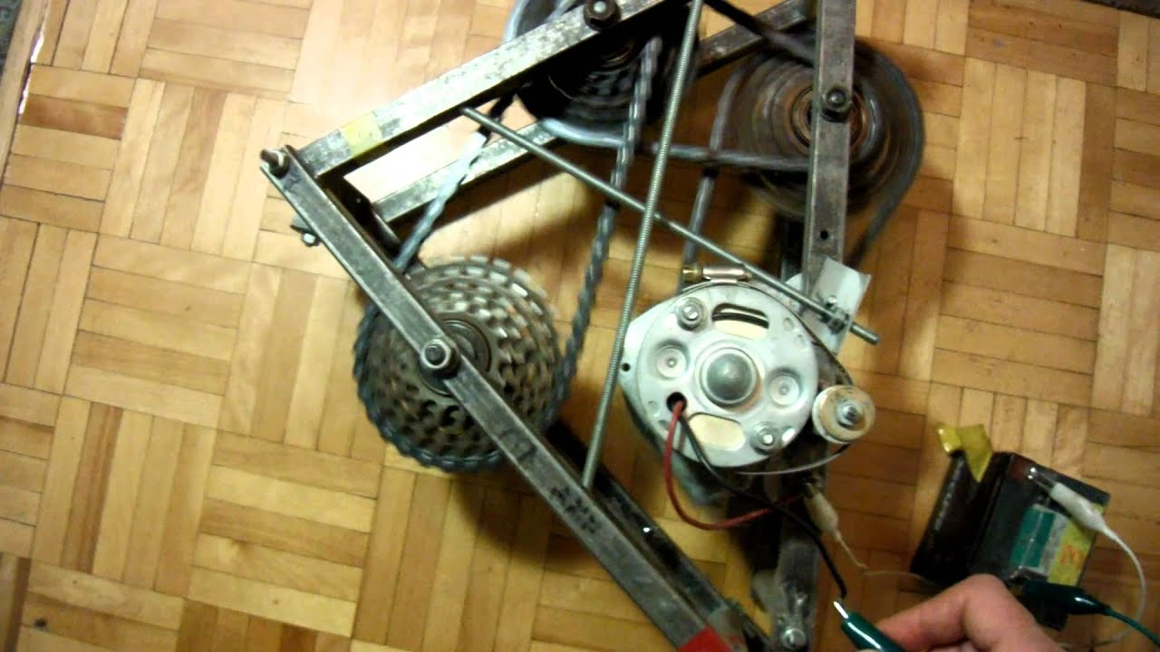 Working 8 to 1 gear reduction