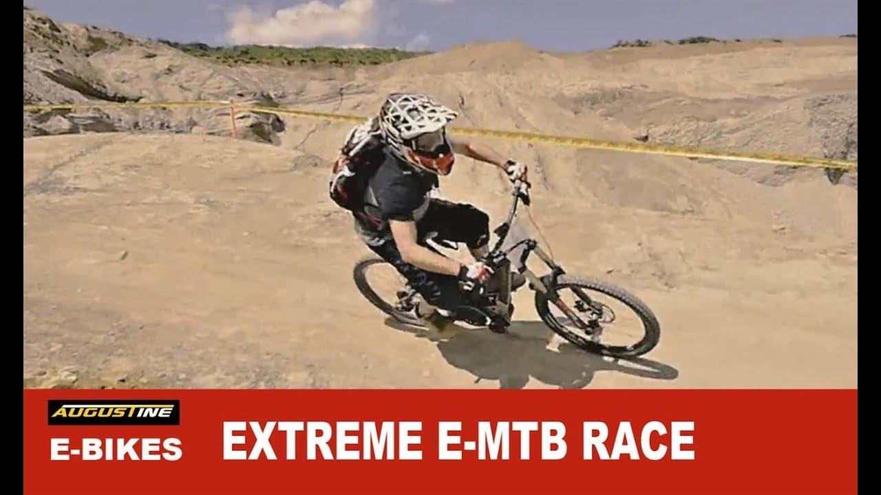 "World's 1st EXTREME Electric-MTB race. ""EGO Gravel Battle"""