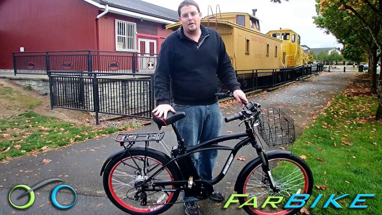 X-treme E-Bike Kona 36v Beach Cruiser Electric Bicycle Review