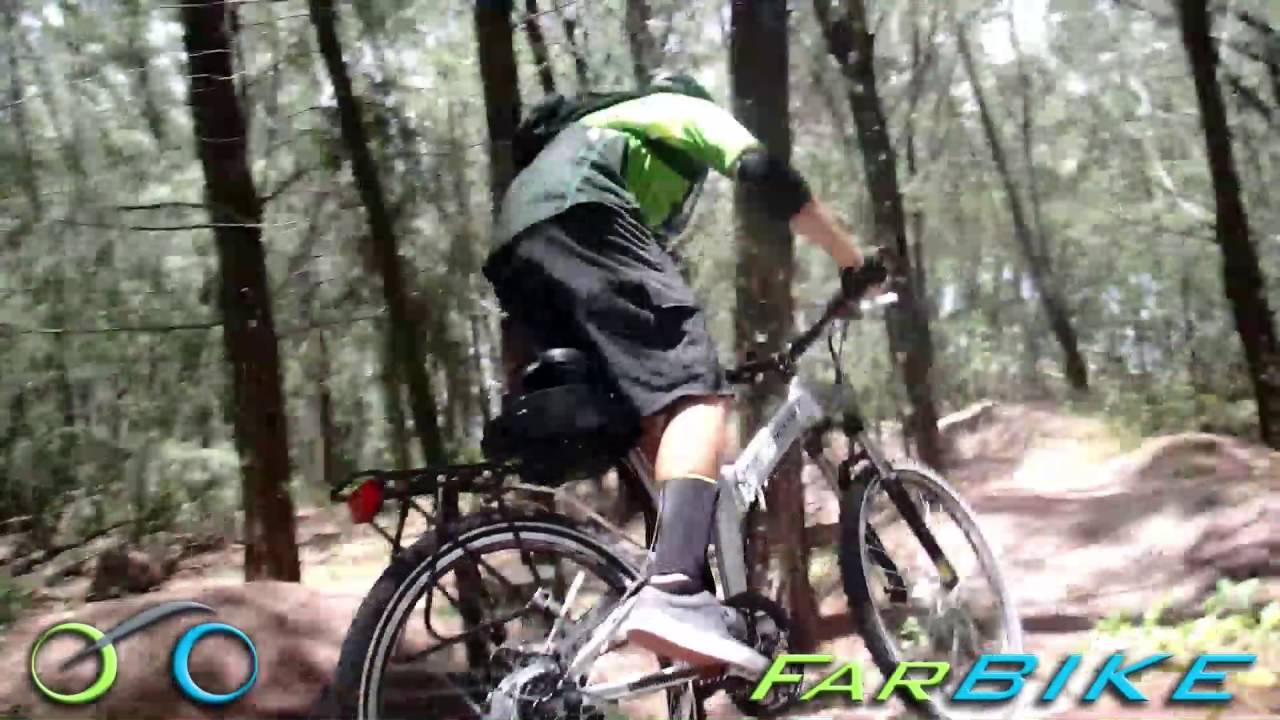 X-treme X-cursion Electric Folding Bike Off Road