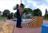 bmx ramp build