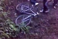 funny mountain bike crash