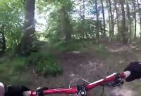 lennox forest mountain bike on enduro mtb