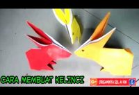 origami animal for kids! how to make rabbit/bunny from paper folding for step by step on description